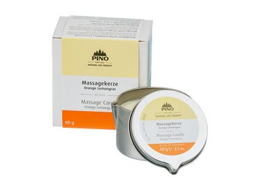 Massagekerze Orange Lemongras