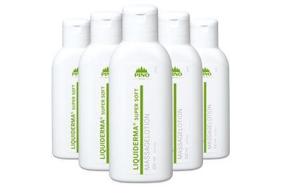 LIQUIDERMA Super Soft Massagelotion 6 Stück á 100 ml