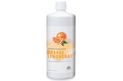 Saunakonzentrat Orange Lemongras für aktivierende Saunaaufgüsse