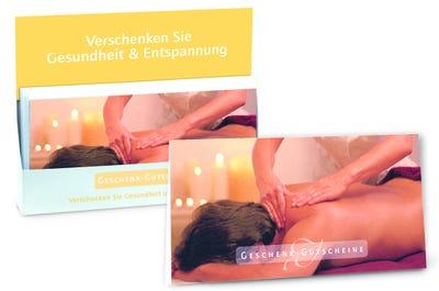 """Gutschein """"Gesundheit & Entspannung"""" Mann"""
