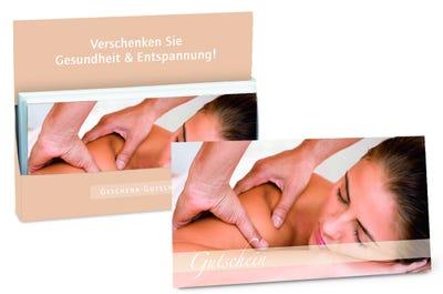 """Gutschein """"Gesundheit & Entspannung"""" Frau"""