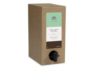 Massageöl Kokos Minze 3 Liter