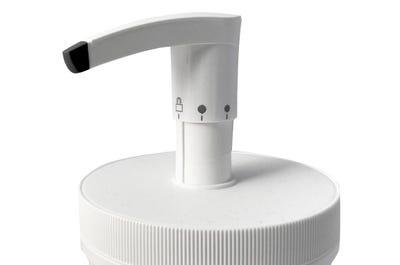 Pumpe für Massagecreme-Dose