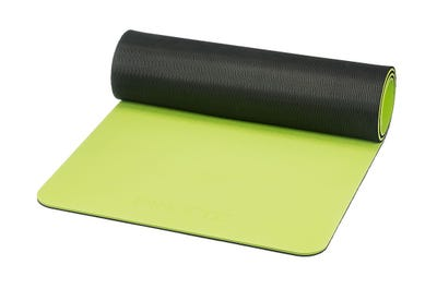 PINOFIT® Gymnastikmatte lime/black