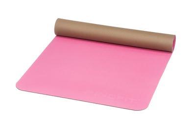 PINOFIT® Yogamatte Lightweight fuchsia/brown