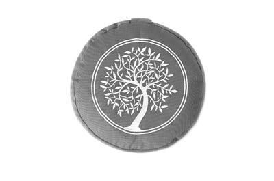 PINOFIT Yogakissen Bezug grey