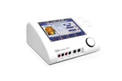 Ultraschall-Elektrotherapie-Kombigerät mit Display CURATUR (Tischgerät)