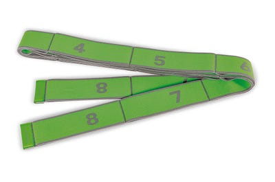 PINOFIT Stretch Band XL in lime mit starkem Widerstand