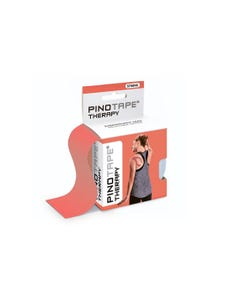 Kinesiologie Tape PINOTAPE Therapy coral mit Verpackung