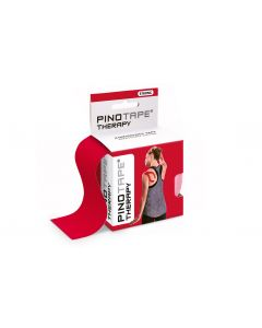 Kinesiologie Tape PINOTAPE therapy red mit Verpackung