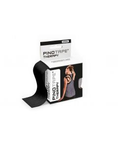 Kinesiologie Tape PINOTAPE therapy black mit Verpackung