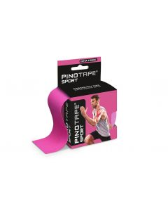 Kinesiologie Tape PINOTAPE pro Sport pink mit Verpackung