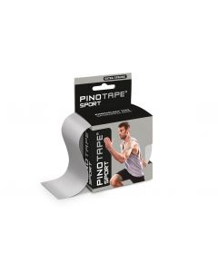 Kinesiologie Tape PINOTAPE pro Sport silber in Verpackung