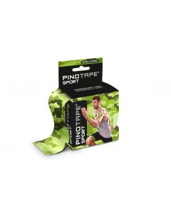 Kinesiologie Tape PINOTAPE pro Sport camouflage mit Verpackung