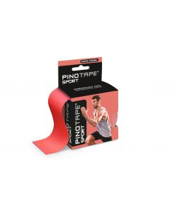 Kinesiologie Tape PINOTAPE Sport coral mit Verpackung