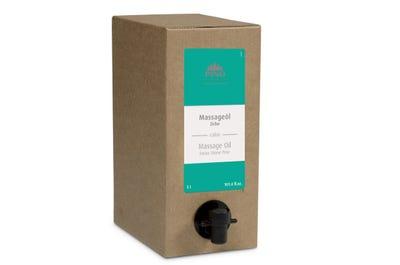 Massageöl Zirbe 3 Liter Bag in Box