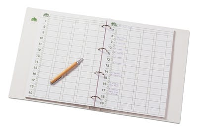Terminplaner-Einlegeblätter im A4-Format für 15-minütige Termine