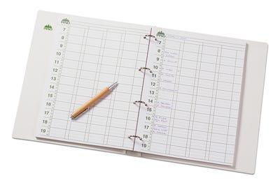 Hochwertiges Terminbuch ohne Einlegeblätter von PINO