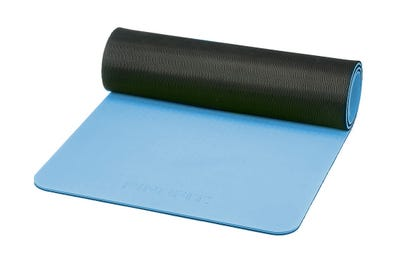 PINOFIT Gymnastikmatte ice blue & black
