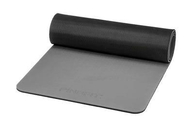 PINOFIT Gymnastikmatte dark grey & black