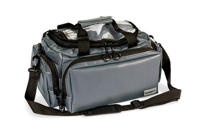 PINOFIT befüllte Physiotherapie-Tasche für Patientenbesuche