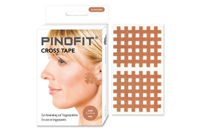 PINOFIT® Cross Tape light beige, large