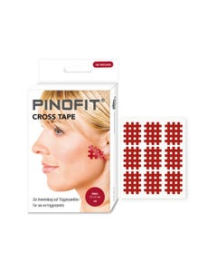 PINOFIT Cross Tape red small zur Behandlung von Triggerpunkten