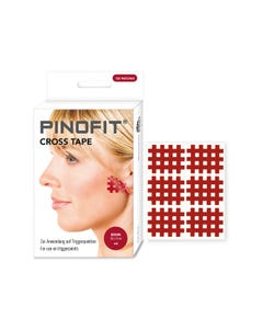 PINOFIT Cross Tape red medium zur Behandlung von Triggerpunkten
