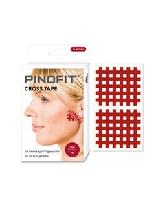 PINOFIT Cross Tape red large zur Behandlung von Triggerpunkten