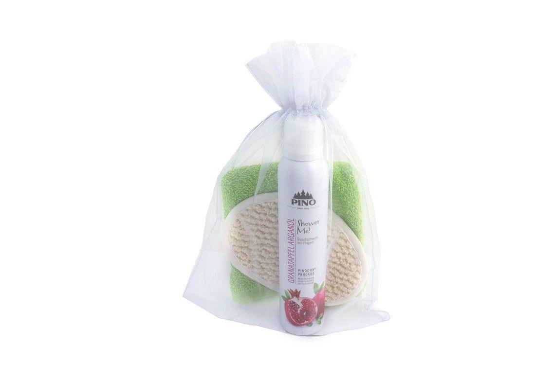 Shower Me! Geschenkset Granatapfel Arganöl