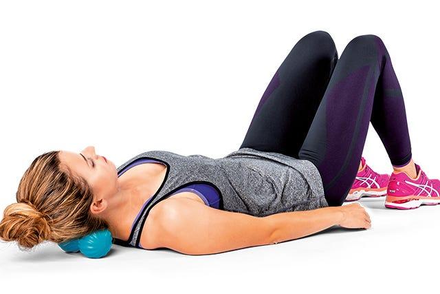PINOFIT Duoball für die gezielte Selbstmassage im Nackenbereich