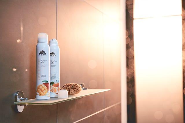 PINO Duschschaum für samtige Duscherlebnisse