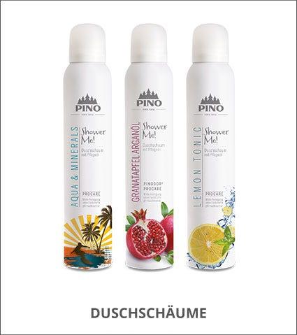 PINO Duschschaum für samtig-zarte Duscherlebnisse