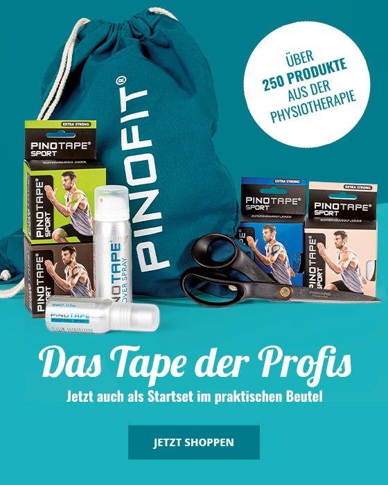 PINOTAPE Kinesiologie Tape - Das Tape der Profis