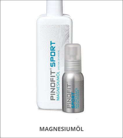 PINOFIT Sportmassage-Produkte mit Magnesiumöl