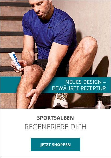 Sportsalben für die Regeneration