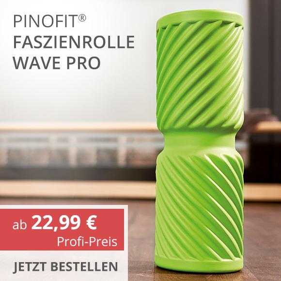 Faszienrolle Wave Pro