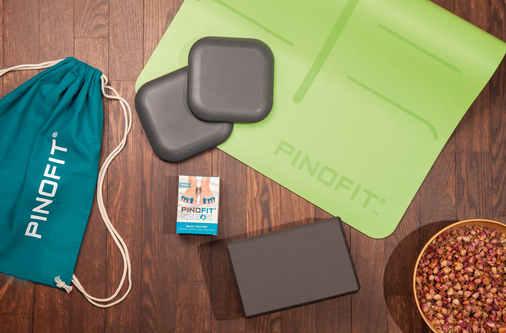 PINOFIT Set - Stay@home & do yoga