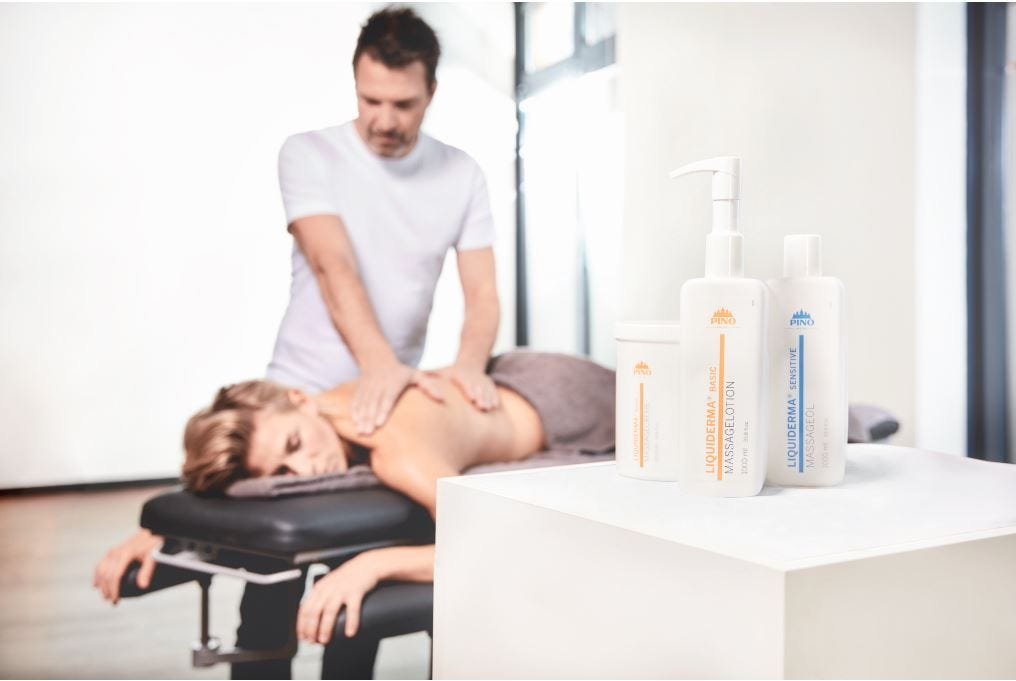 PINO Massageprodukte für Therapeuten & Masseure